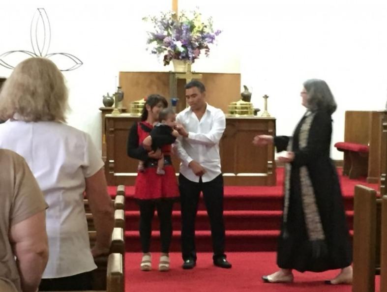 First Christian Church Charlotte kids Dedication of children