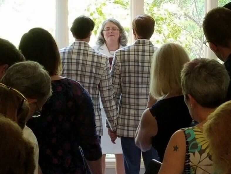 First Christian Church Charlotte Wedding Andyforest