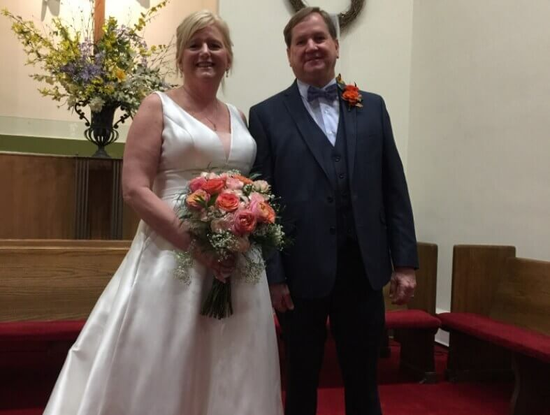 First Christian Church Charlotte Wedding Nelson and Jane Haynes