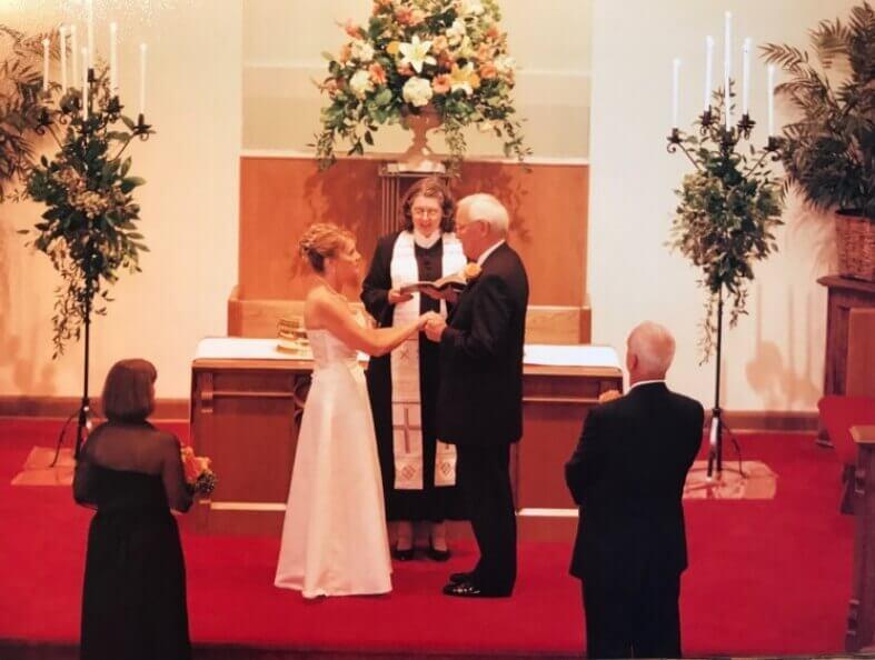 First Christian Church Charlotte Wedding