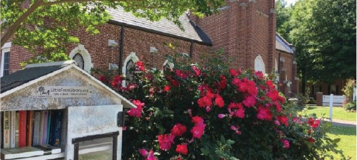 First Christian Church Charlotte Garden Flowers